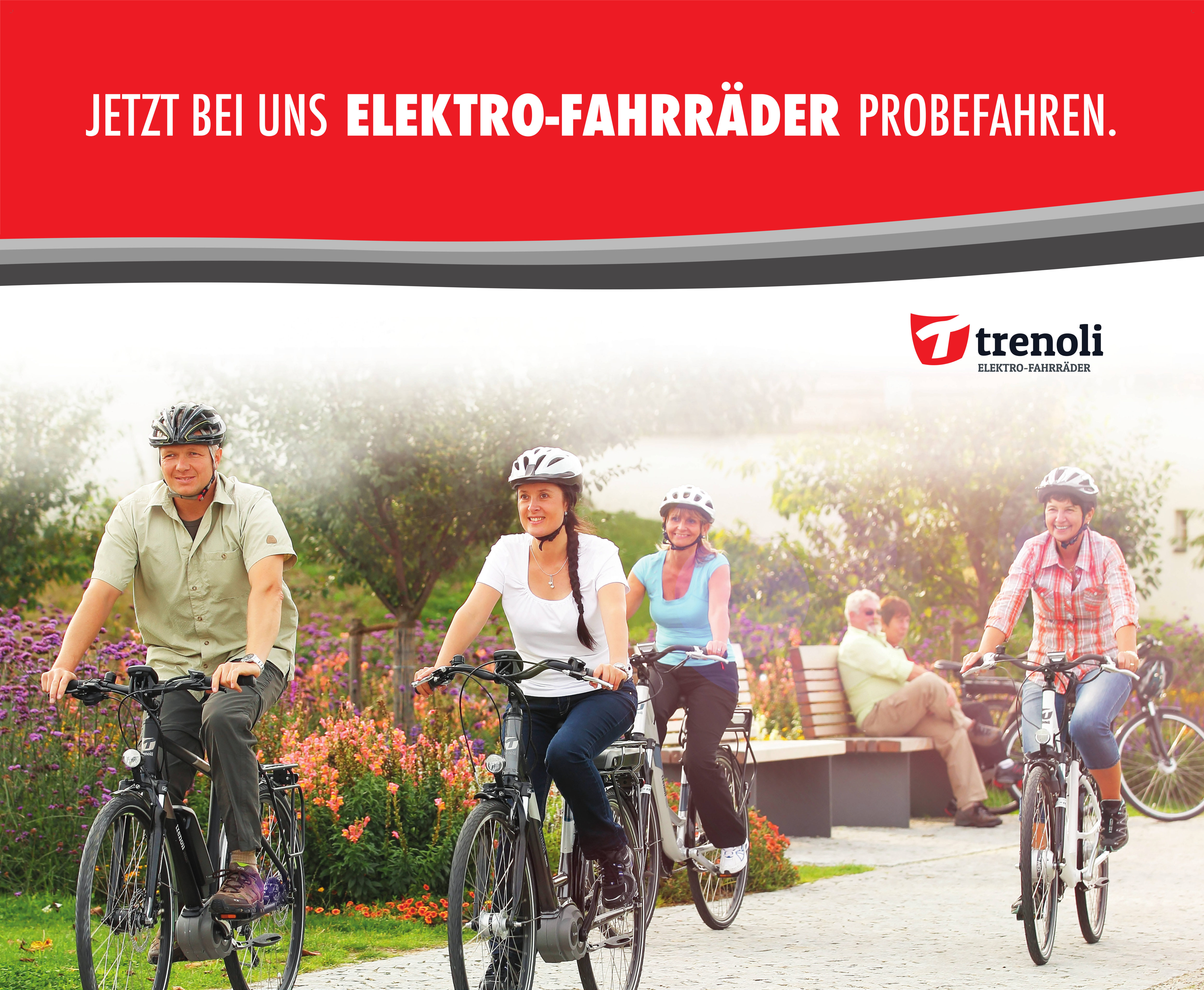 jetzt e bikes probe fahren car n bike service gmbh. Black Bedroom Furniture Sets. Home Design Ideas