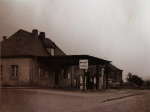 alte Tankstelle